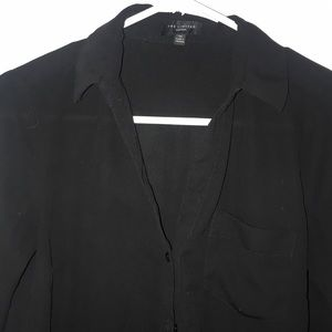 THE LIMITED black button up